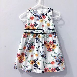 Old Navy cotton floral dress 18-24m